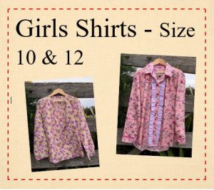 10 & 12 Girls Shirts